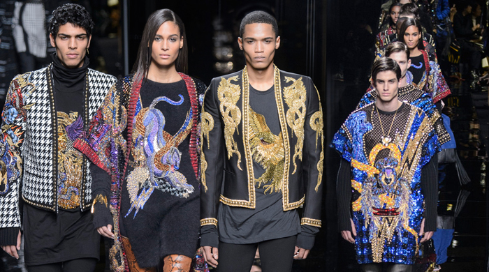 Men's Paris Fashion Week: Balmain Fall/Winter '17