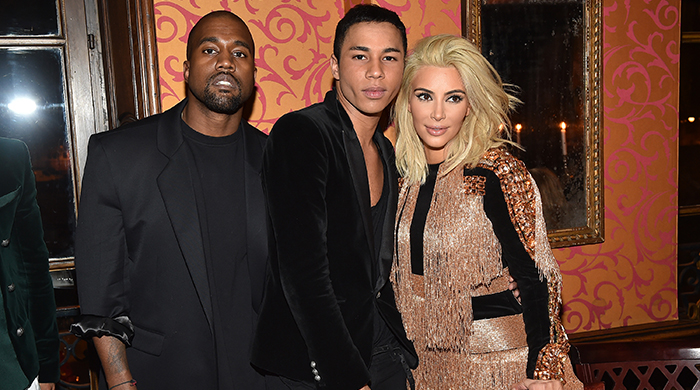 Olivier Rousteing hosts Balmain dinner in Paris