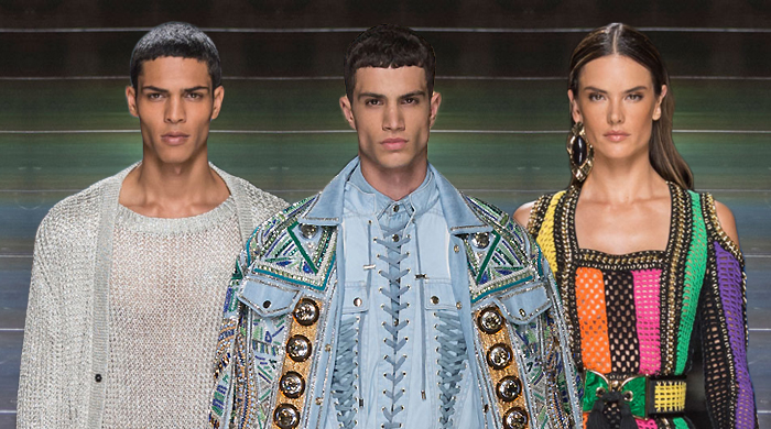 Men's Paris Fashion Week: Balmain Spring/Summer '17