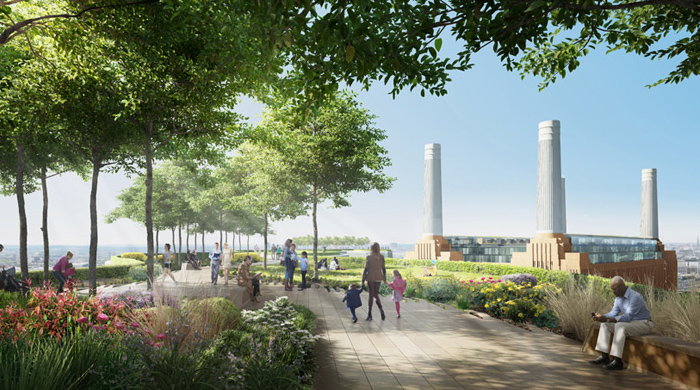 Battersea Power Station's revamp thanks to Frank Gehry