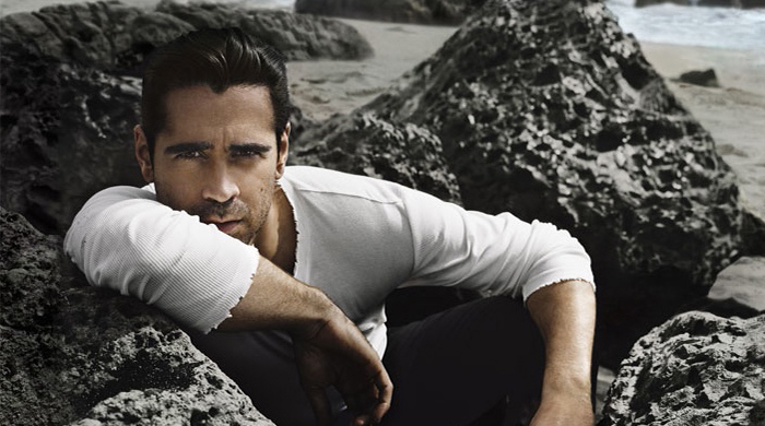 Behind-the-scenes with Colin Farrell and Dolce & Gabbana
