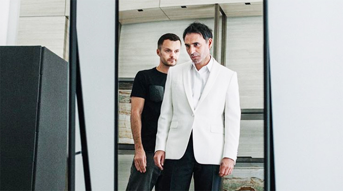 Kris Van Assche just debuted his first designs for Berluti
