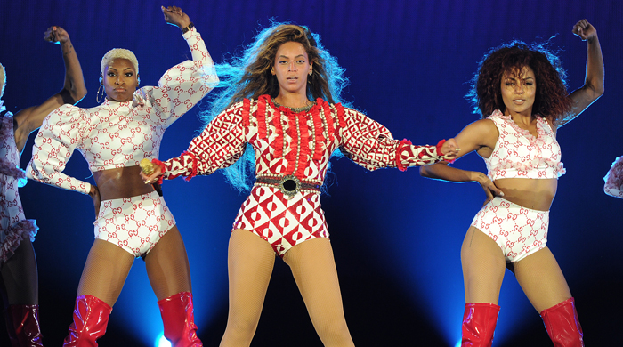 Beyonce's Gucci World Tour wardrobe
