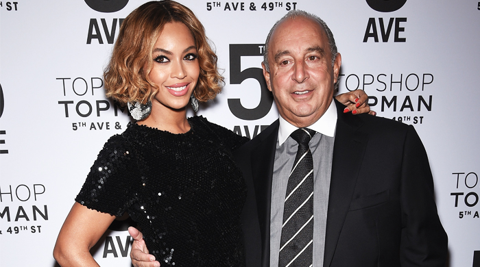 Beyoncé attends Topshop New York's Fifth Avenue flagship opening