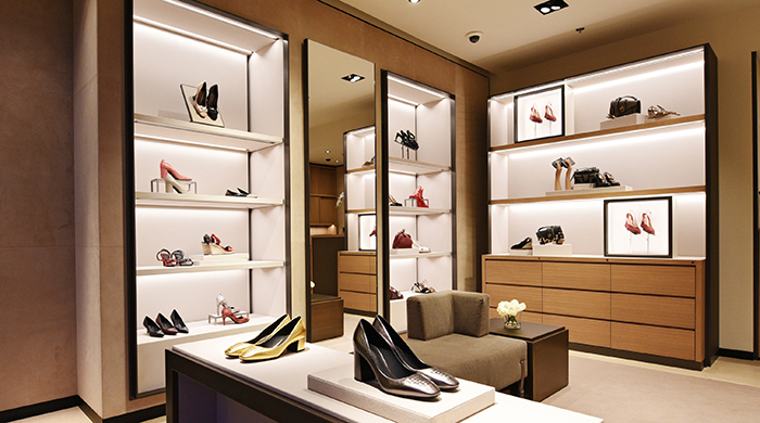 Bottega Veneta opens its doors at Level Shoes