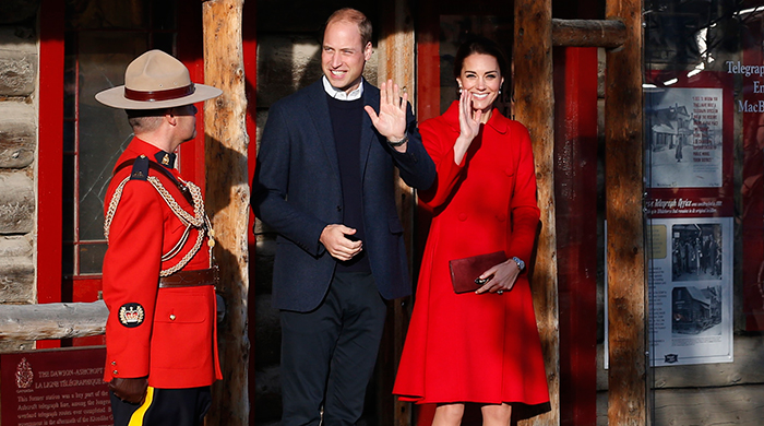 The British Royals Canadian tour: Day five