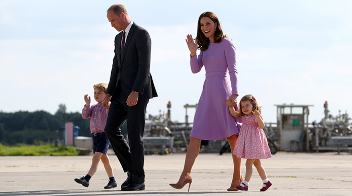 Breaking news: Kate Middleton has welcomed a baby boy