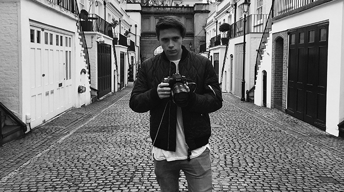 Burberry by Brooklyn Beckham: A fragrance photoshoot