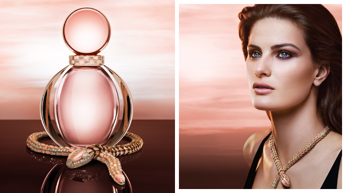 Bulgari unveils its new fragrance, Rose Goldea