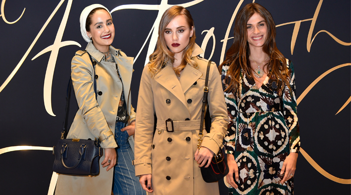 Dubai exclusive: Burberry's Art of the Trench celebration