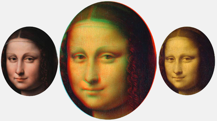 The Mona Lisa might be history's first 3D image