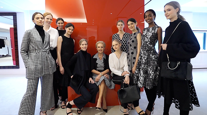 Go behind the scenes with Carolina Herrera