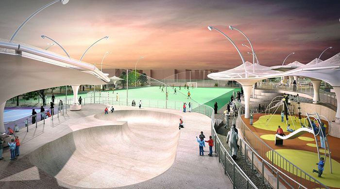 Grimshaw is building new recreational facilities in Qatar