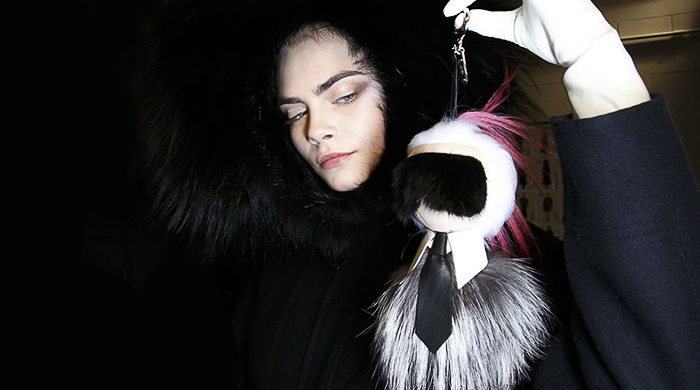 Fendi's AW14 fur Karl Lagerfeld doll is a huge retail hit