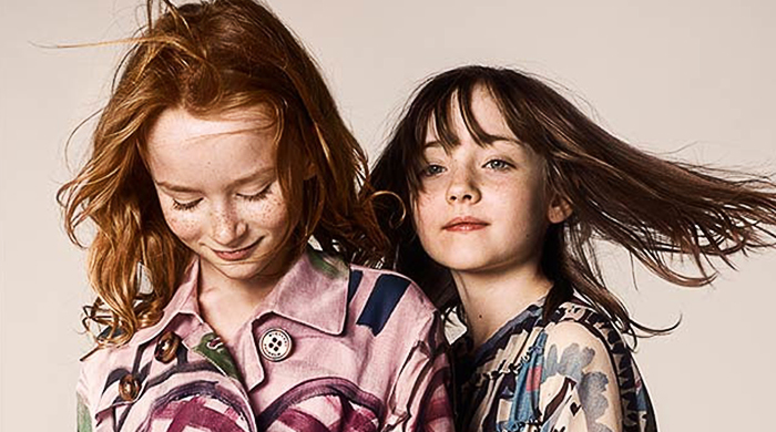 First look: Burberry Children Autumn/Winter 14