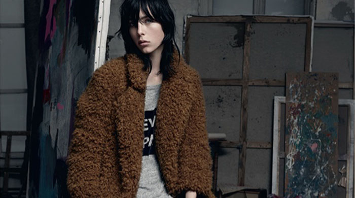 First look: Sandro's Autumn/Winter 14 campaign
