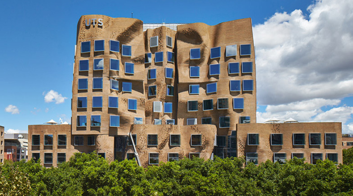 Frank Gehry opens his first architectural design for Australia in Sydney