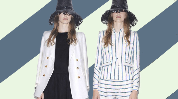 First look: Band of Outsiders Spring/Summer 15
