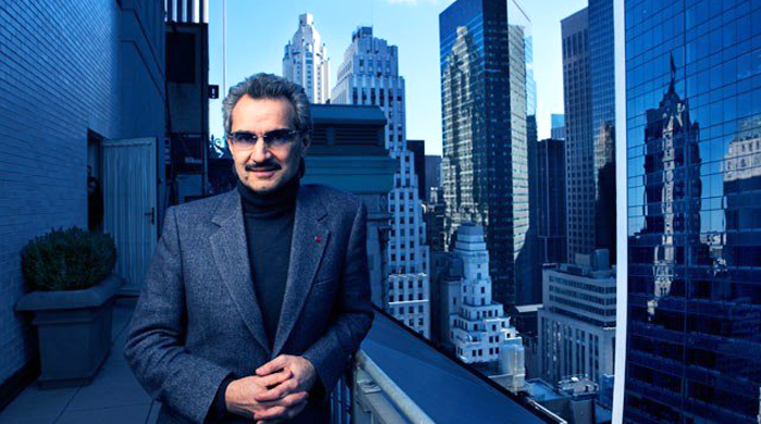 Saudi's Prince Alwaleed tops the 2014 richest Arabs list