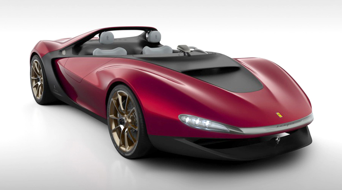 The very limited edition Ferrari Pininfarina Sergio