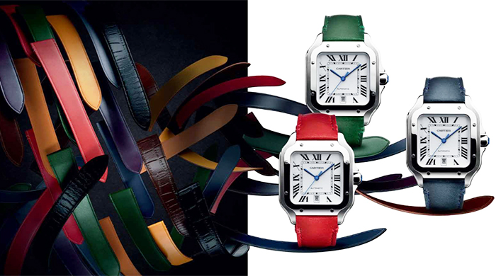 Cartier introduces new Santos de Cartier at SIHH 2018