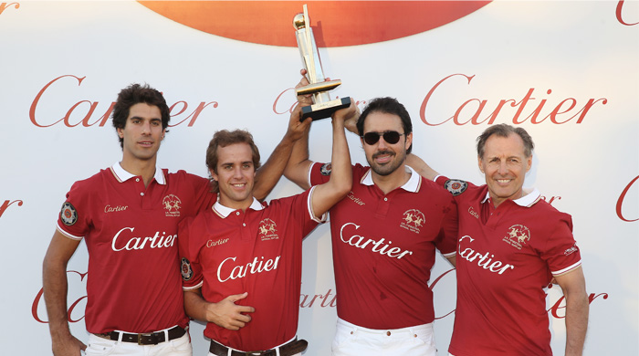 Cartier triumphs to victory in the Cartier International Dubai Polo Challenge 2014