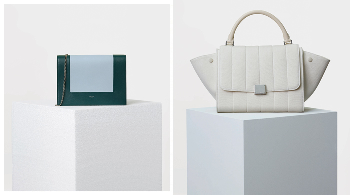First look: Celine's Les Sacs '17 collection