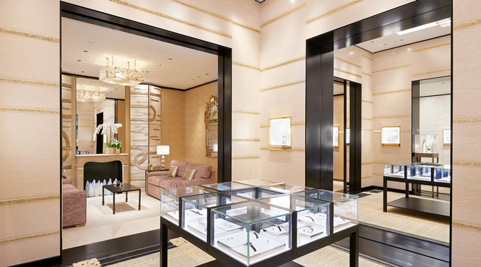 First look: Chanel Watches and Fine Jewellery Dubai boutique by Peter Marino