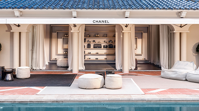 Gone shopping: Inside Chanel's French pop-up shop