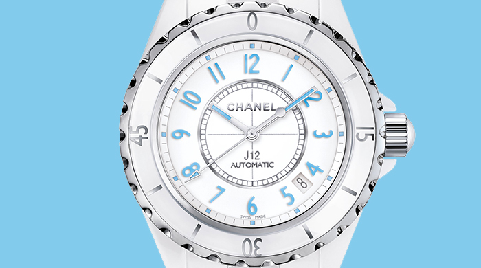 Object of desire: Chanel's limited edition 'J12 Blue Light' timepiece
