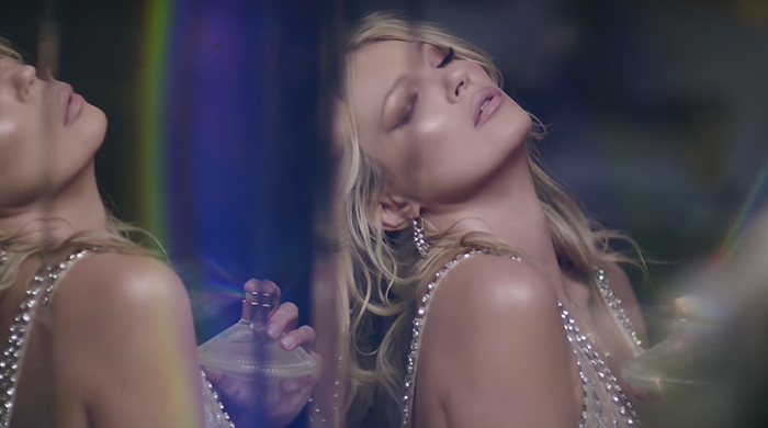 New scent: Kate Moss fronts Charlotte Tilbury's latest fragrance