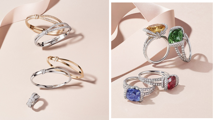 Discover Chaumet's Liens Séduction jewellery collection