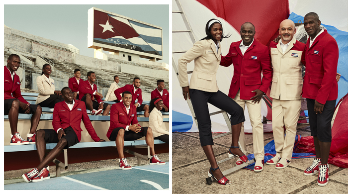 Must-see: Christian Louboutin's Cuba Olympic Games uniforms