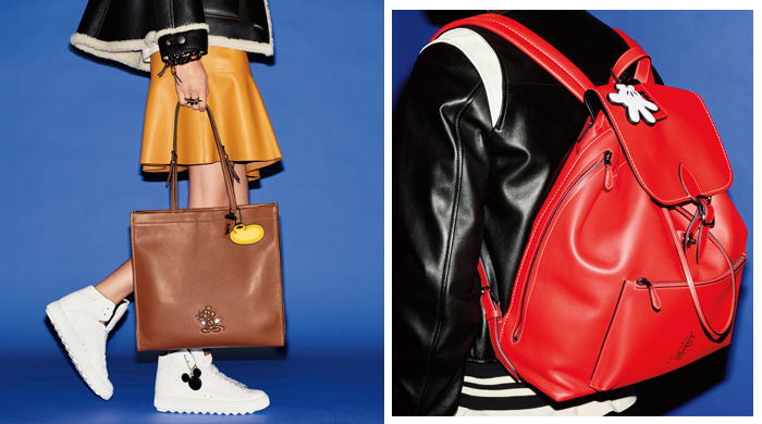 Coach x Mickey Mouse: A characteristic collection