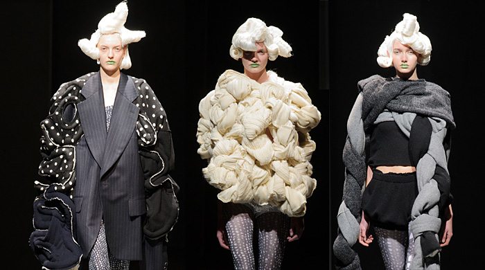 Paris Fashion Week: Comme des Garcons Autumn/Winter 14