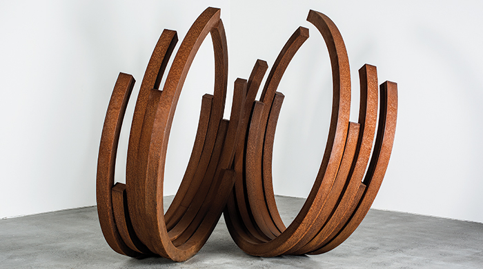 Sculpting steel: A Bernar Venet showcase in Dubai
