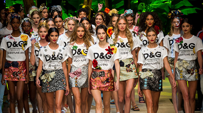 Milan Fashion Week: Dolce & Gabbana Spring/Summer '17