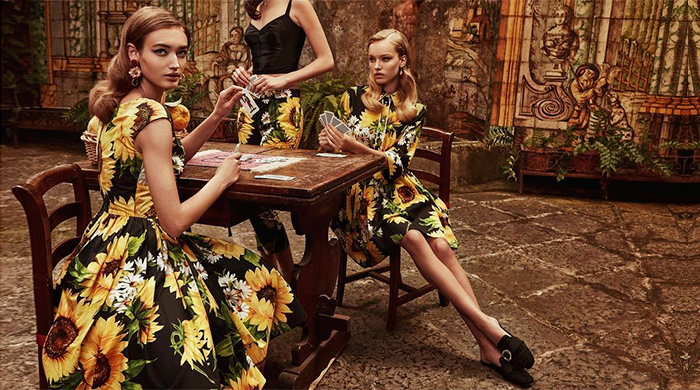 First look: Dolce & Gabbana's new campaign