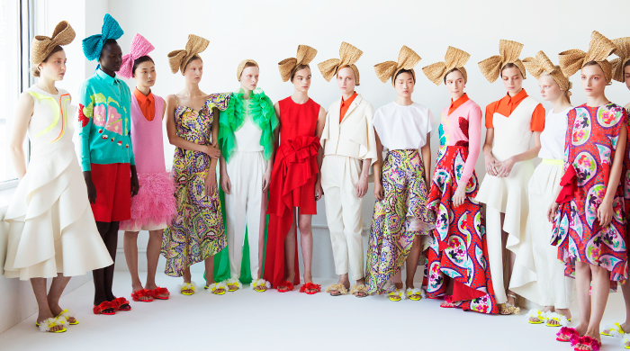 New York Fashion Week: Delpozo Spring/Summer '18