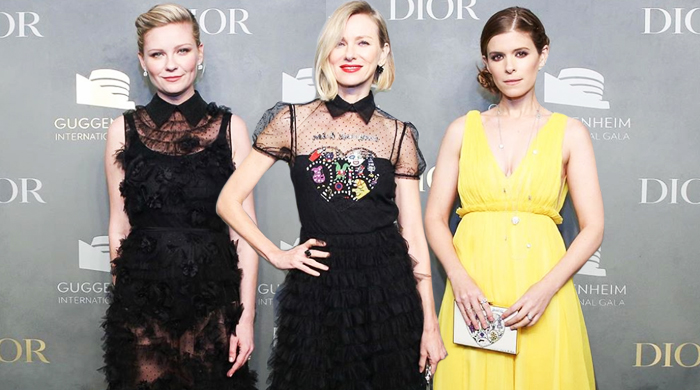 Dressed in Dior: Guggenheim International Gala red carpet arrivals