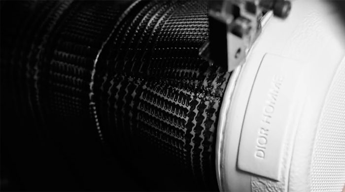 The making of Dior Homme's SS17 sneakers