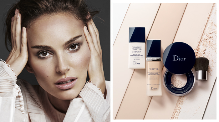 Exclusive: In conversation with Natalie Portman on makeup, musings and the making of the Diorskin Forever campaign