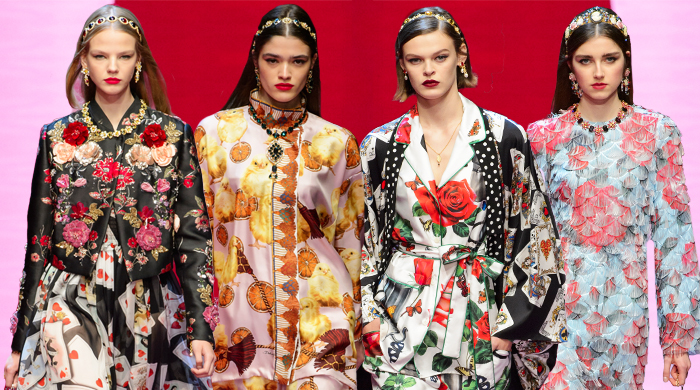 Milan Fashion Week: Dolce & Gabbana Spring/Summer '18