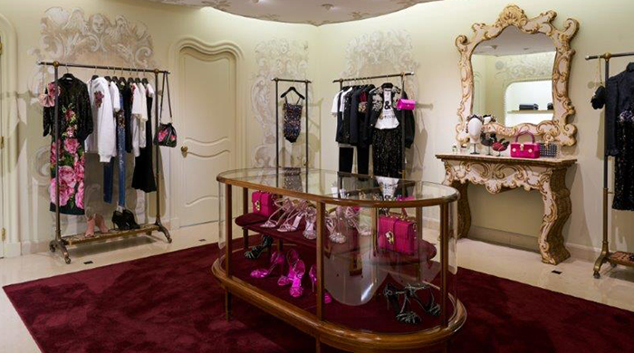 Now open: Dolce & Gabbana's new women's boutique in Paris