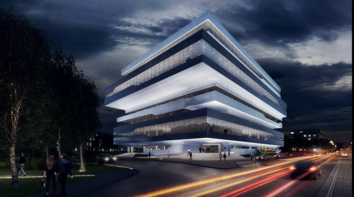Zaha Hadid's Moscow project completed