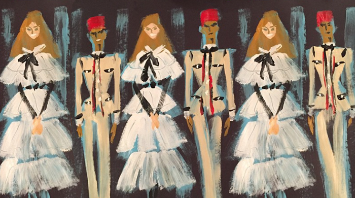 Donald Drawbertson's take on Chanel Métiers d'Art Paris-Salzburg