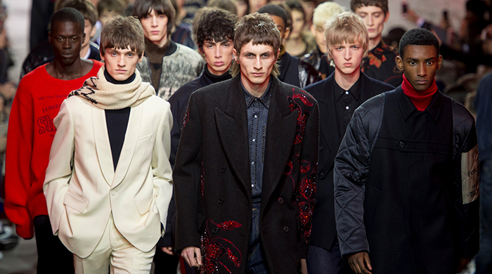 Men's Paris Fashion Week: Dries Van Noten Fall/Winter '17