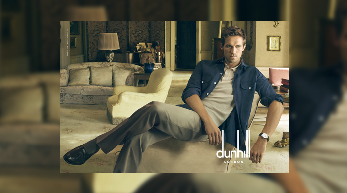 First look: Dunhill's second campaign shot by Annie Leibovitz