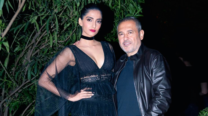 Spotted: Sara Sampaio, Sonam Kapoor and Noor Fares in Beirut with Elie Saab