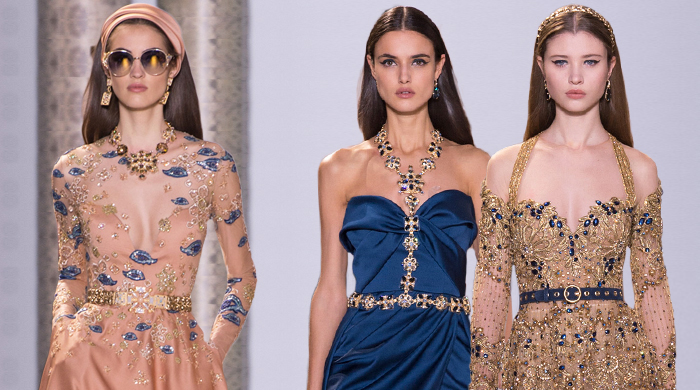 Paris Haute Couture Fashion Week: Elie Saab Spring/Summer '17